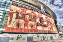 Arsenal FC Emirates Stadium London by David Pyatt