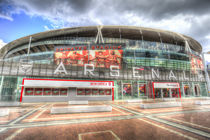 Arsenal FC Emirates Stadium London by David Pyatt