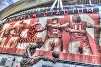 Dennis Bergkamp Statue Emirates Stadium by David Pyatt