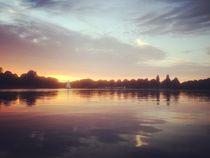 alster sunset by Philipp Kayser