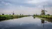 Windmills at Kinderdijk by Erik Mugira