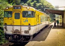 Diesel train at Yamaguchi by Erik Mugira