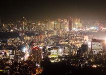 Shinjuku from Roppongi Hills by Erik Mugira
