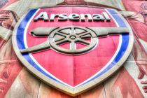 Arsenal Football Club Symbol by David Pyatt