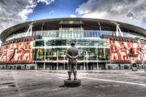 Arsenal FC Emirates Stadium London von David Pyatt