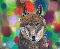 Wolf Lupus attentus by roosalina