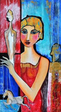 Die Puppenspielerin by Jeanett Rotter