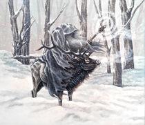 Blue Wizard by Rebecca Magar