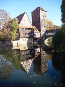 Nürnberg  , Haus am Wasser von Pia Roth