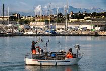 Fishing boat von Azzurra Di Pietro