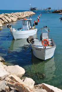 Boats  von Azzurra Di Pietro