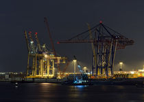Hafen im Abendlicht by fotolos