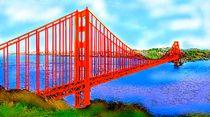 diegoldengatebridge by reniertpuah