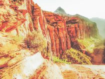 mountain view at Zion national park by timla