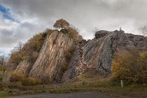 Dinas Rock at Pontneddfechan by Leighton Collins
