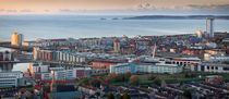 Swansea city panorama by Leighton Collins