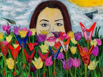 Flying V Garden  von Lindsay Strubbe