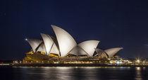 Sydney Opera House bei Nacht von Hartmut Albert