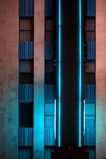 Blue Hotel by Bastian  Kienitz