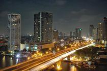 Bangkok by night 2 by Bruno Schmidiger