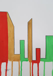 Contemporary Skyline VI w von art-gallery-bendorf