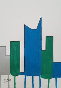Contemporary Skyline VIII c von art-gallery-bendorf