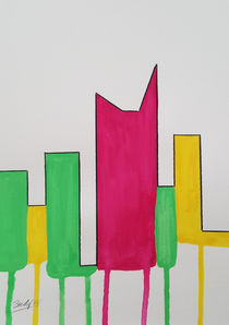 Contemporary Skyline VIII w von art-gallery-bendorf