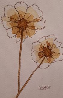 Coffee Flowers XI von art-gallery-bendorf