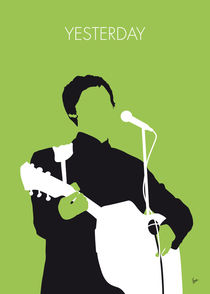 No076 MY PAUL MCCARTNEY Minimal Music poster von chungkong