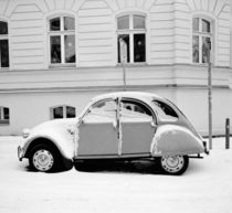 2CV in the snow