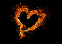 Heart-of-flames
