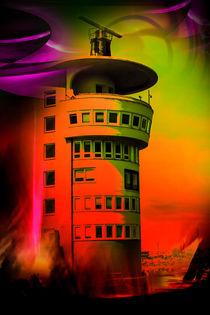 Maritimes - Leuchtturm Bremerhaven by Walter Zettl