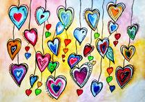 'Beschwingte Herzen Malerei' von siegfried2838