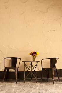 Side Walk Cafe by Jim Corwin