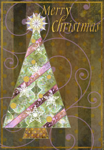 Christmas Tree Card von Helen K. Passey