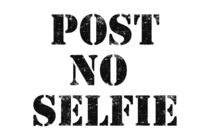 Post no selfie by wamdesign