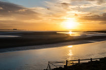 River Severn Sihouette by David Tinsley