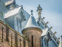 Roof Detail of Ridderzaal in Binnenhof