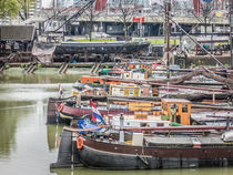 "Zoom into the ""Old Harbour"" of Rotterdam von Erik Mugira"