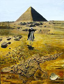 Reiter vor Pyramide von Heinz Sterzenbach