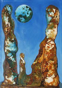 VU 177 Große Felsfiguren von Heinz Sterzenbach