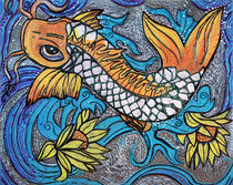 Glitter Fish by Laura Barbosa