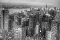 Manhattan New York black and white by wamdesign