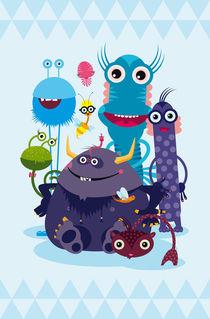 Monster-Crew von Pia Kolle