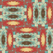 Complex colorful pattern by Gaspar Avila