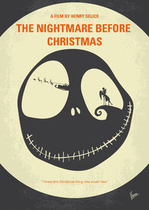 No712-my-the-nightmare-before-christmas-minimal-movie-poster