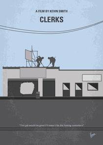 No715-my-clerks-minimal-movie-poster