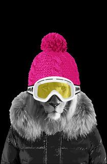 Lion winter sports by wamdesign