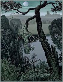 Die Kiefer am Wasser by Konstantin Beider