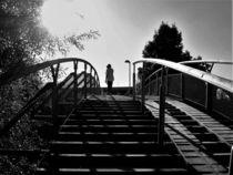 Auf der Brücke von Angelika Thomson